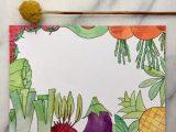 Groente en Fruit – Ansichtkaart