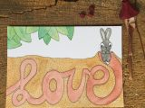 LOVE – ansichtkaart