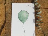 Ballonnetje – ansichtkaart